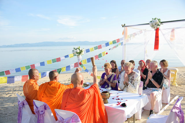 Boda en koh tao tailandia matrimonio planificador y for East coast beach wedding locations